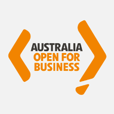 Australia - open for business.